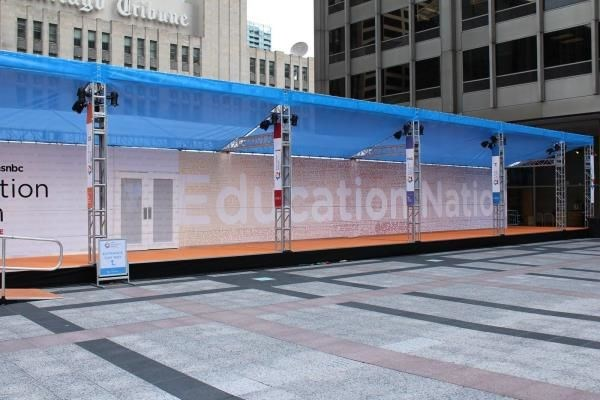 MESH008 - Custom Mesh Banner and Building Wrap for Education