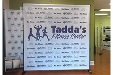 - Image360-Tucker-GA-Step-and-Repeat-banner-Taddas Fitness Center