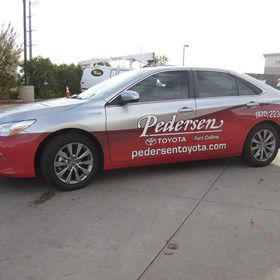 Partial Vehicle Wrap - Pedersen Toyota - Fort Collins